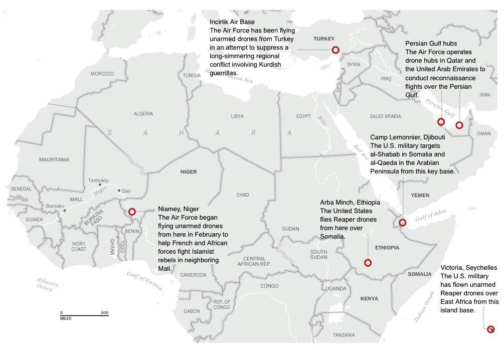 WP US military drone network in the Middle East and Africa
